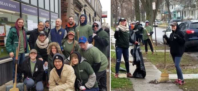 Grant Street Cleanup Photo